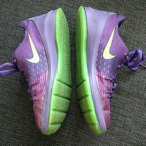 Nike Shoes - Girl's Purple Nike Sneaker - Size 11